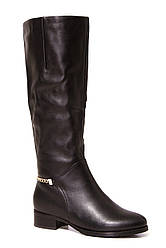 Стильные кожаные  сапоги на меху ANNA LUCCI L4M16-L988-61 кож-Z скидка