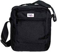 """Наплечная сумка Fox Outdoor """"Travel-II"""" чёрная 30959A"""