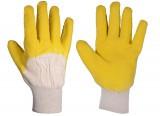 Перчатки с латексным ребристым покрытием (стекольщик) MASTER TOOL