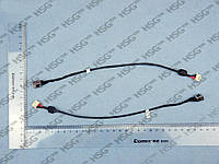 DC JACK TOSHIBA Satellite L645, L645D (With cable)
