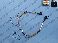 DC JACK TOSHIBA Satellite P300, P305D (With cable)