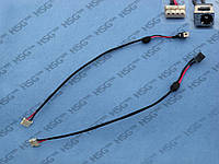 DC JACK TOSHIBA Satellite T130, T135, L655 (With cable)