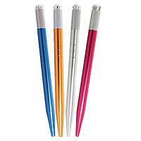 Ручка-держатель металлическая  синяя