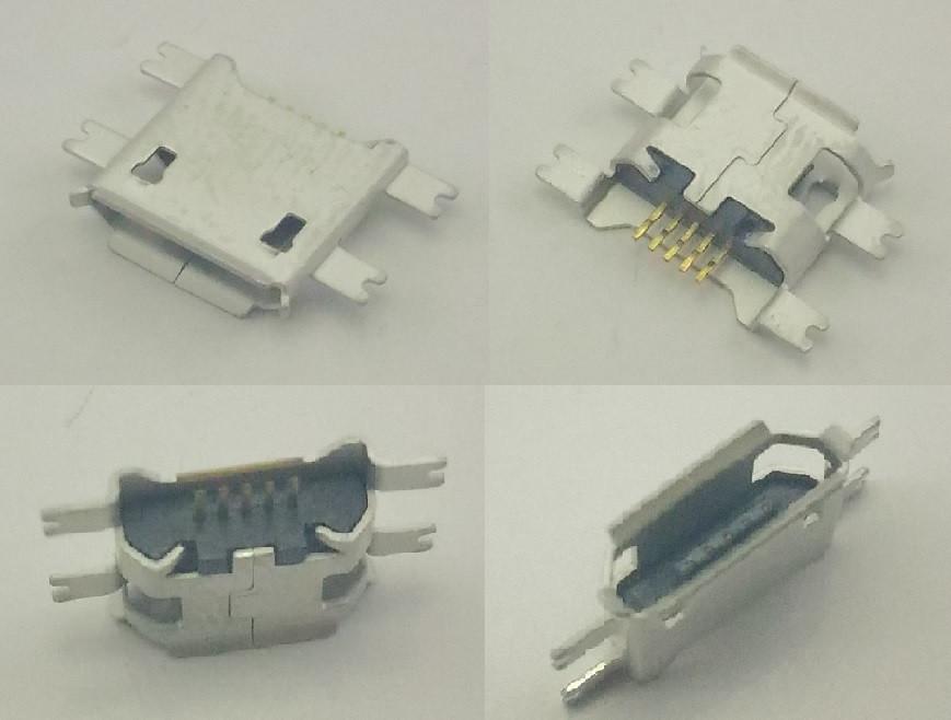 Коннектор Micro USB, Micro USB Гнездо, Micro USB разъем. №5. 1 шт