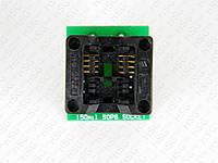 Переходник ZIF socket adapter 150-mil SOP8, SO8, SOIC8 на DIP-8