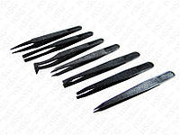 Plastic Tweezers Precisions (Пластиковий пінцет 7 шт)