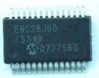 ENC28J60 (28-pin QFN)