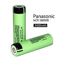 Аккумулятор (лицензионный) Panasonic NCR 18650B 3400 mAh , фото 1