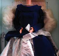 Кукла Барби коллекционная Зимний Бархат 1995 (Barbie Special Edition Winter Velvet Doll Caucasian 1st) , фото 2