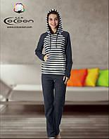 Костюм для дома в полоску Cocoon CCND61-7501 ANT