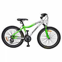 """Велосипед спортивный 24 """" LINERS green"""