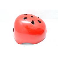 Детский защитный шлем № 14 red