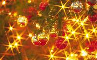 Новогодние украшения, гирлянды