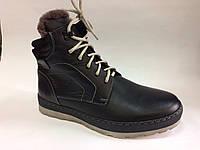 Ботинки мужские Pav Black Boots черные, фото 1
