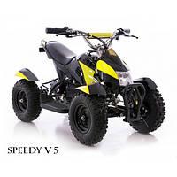 Квадроцикл детский SPEEDY V 5 желтый
