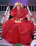 Кукла Барби коллекционная Праздничная 1993 / Mattel Barbie Happy Holidays Barbie Doll Hallmark Special Edition