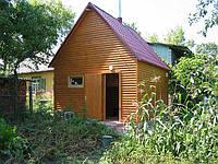 Деревяная баня 5х4 под ключ