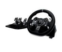 Педали и руль Logitech G920 Driving Force XBOX One/PC