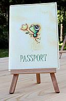 "Обложка (чехол) на паспорт ""лягушка"""