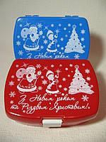 Идеальная новогодняя упаковка для конфет и детских подарков (Детский ланч-бокс)