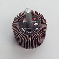 Круг лепестковый в оправке (КЛО) Sprut - 60 x 25 x 6 Р80