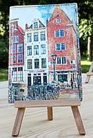 """Обложка (чехол) на паспорт """"Амстердам"""""""