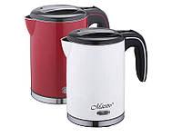 Электрический чайник Maestro 1,2 литра (белый, красный)