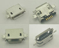 Коннектор Micro USB, Micro USB Гнездо, Micro USB разъем. №6. 1 шт