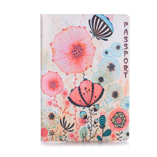 """Обложка для паспорта """"Цветы маки"""""""