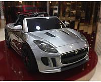 Детский электромобиль Jaguar MD EVA 6810 silver