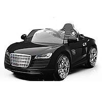 Детский электромобиль Audi R8 EVA колеса 6508 черный