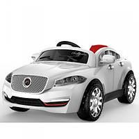 Детский электромобиль на пульте управления Jaguar White 8811