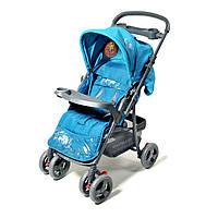 Прогулочная коляска с перекидной ручкой Elefant 1000 синий