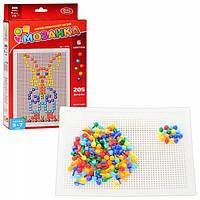 Развивающая игра для детей мозаика
