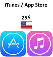 ITunes App Store Gift Card 25 USD