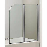Шторка для ванны Eger 120 см, хром 599-121CH