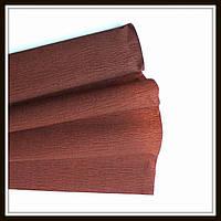 Гофрированная бумага коричневая  (50*250 см)