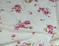 Постельное белье Фланель(байка), Роза розовая - двуспальный комплект