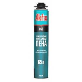 Пена монтажная AKFIX профи MEGA 850 мл. (1020г)
