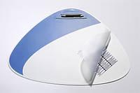Настольное покрытие Durable Vegas треугольной формы с прозрачным клапаном (69 x 51 см) 7208