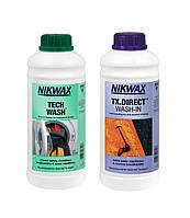 Набор Twin Pack (Стирка + Пропитка) Tech Wash 1L + TX Direct 1L Nikwax