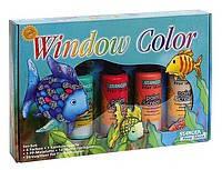 Набор для росписи по стеклу  Подводный мир  (маленький) 10715