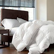 Одеяло полуторное пуховое Зимнее Raffaello 155x215 пух 100% Премиум MirSon 053, фото 2