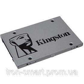 Твердотельный накопитель 240Gb, Kingston SSDNow UV400, SATA3, 2.5', TLC, 550/490 MB/s (SUV400S37/240G)