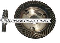Шестерня с валом полировочной машины Sparky PMB 1200 CE запчасти