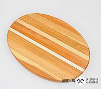 Деревянная разделочная доска, доска для сыра, овальная доска для нарезок, сервировочная доска