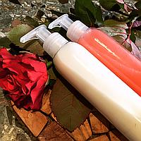 """Натуральный безсульфатный шампунь для волос и бальзам для волос  """"Роза и бергамот"""""""