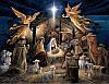 """Алмазная вышивка мозаика стразами """"Рождение Иисуса Христа"""""""