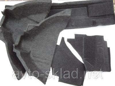 Обивка багажника Ваз-2108, 2109 (ворс) комплект 5шт
