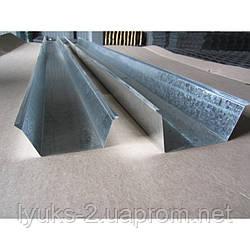 Желоб водосточный оцинкованный 2м 60х80х60